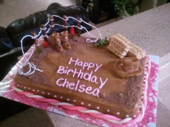 western sheetcakes | Displaying (20) Gallery Images For Country Girl Cakes...