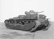 Tanks of the interwar period - Vickers A1E1 Independent Wikipedia, the free encyclopedia