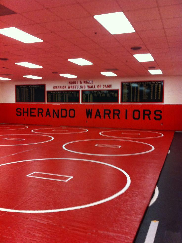 Lehigh university wrestling room decor