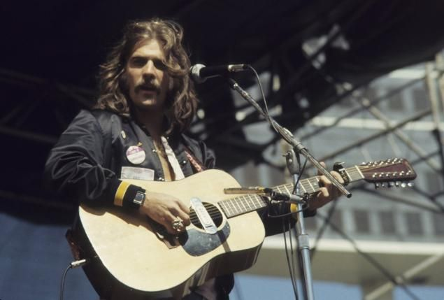 Glenn Frey in 1977. He was a great man, songwriter! The Eagles were obviously NOT a lousy band!!!