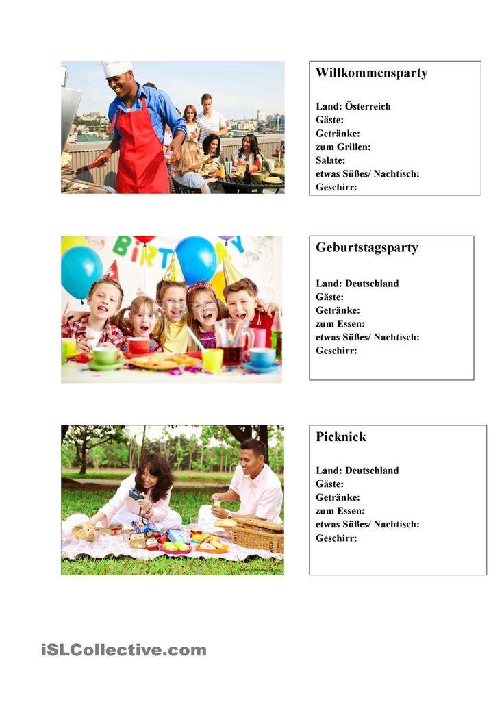 german coursework holidays