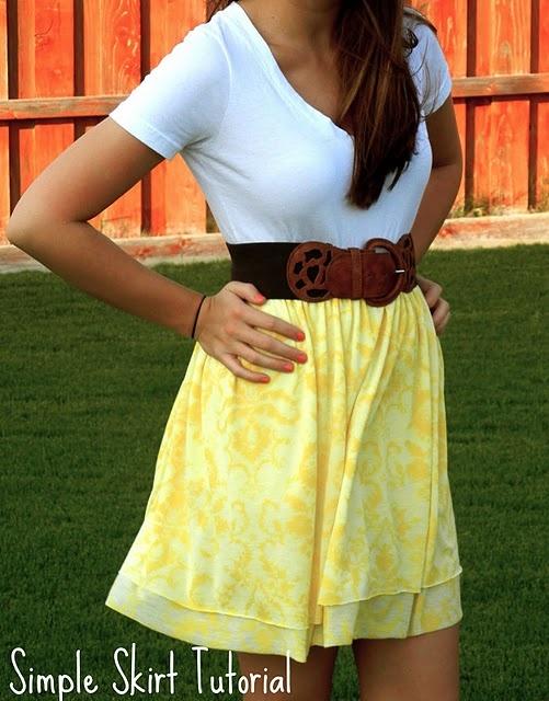 Super easy super cute skirt