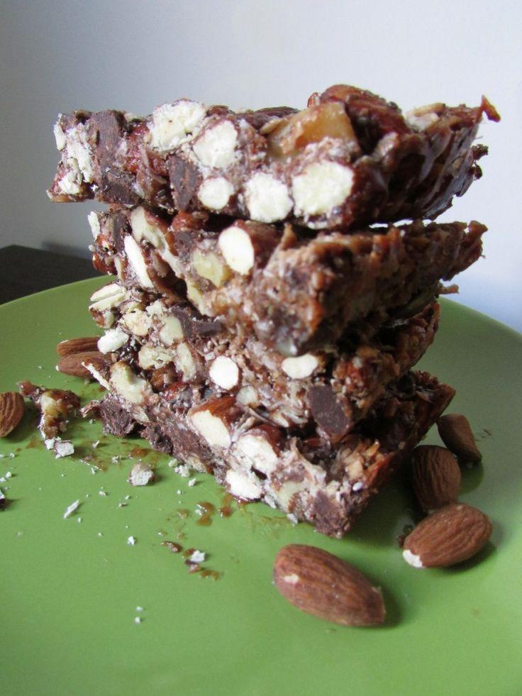 Nutty Chocolate Coconut Bars