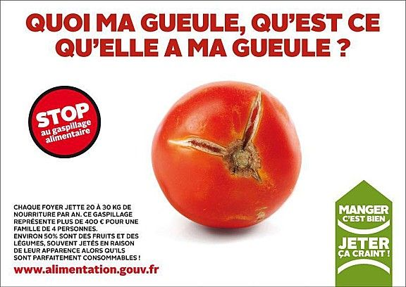 campagne sympa contre le gaspillage alimentaire