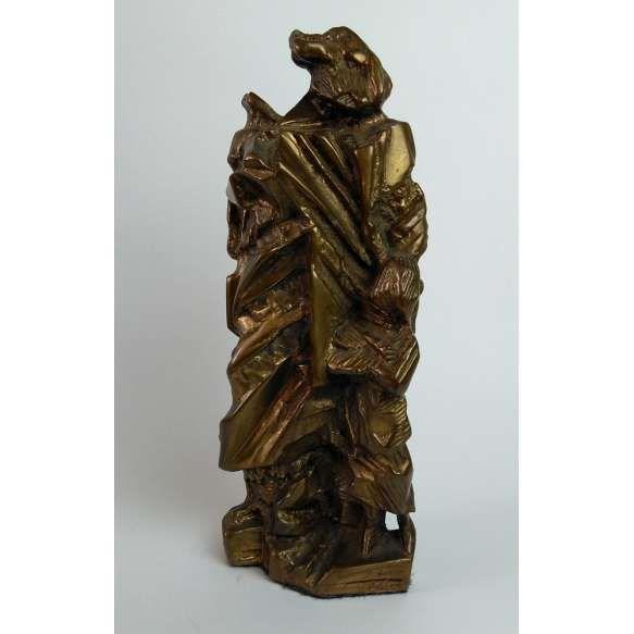 Maria Bonomi - Escultura em bronze 2001 - Medidas 27 x x 13 x 6 cm - Assinada