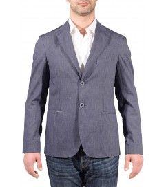Giacca cotone  Ancona blu