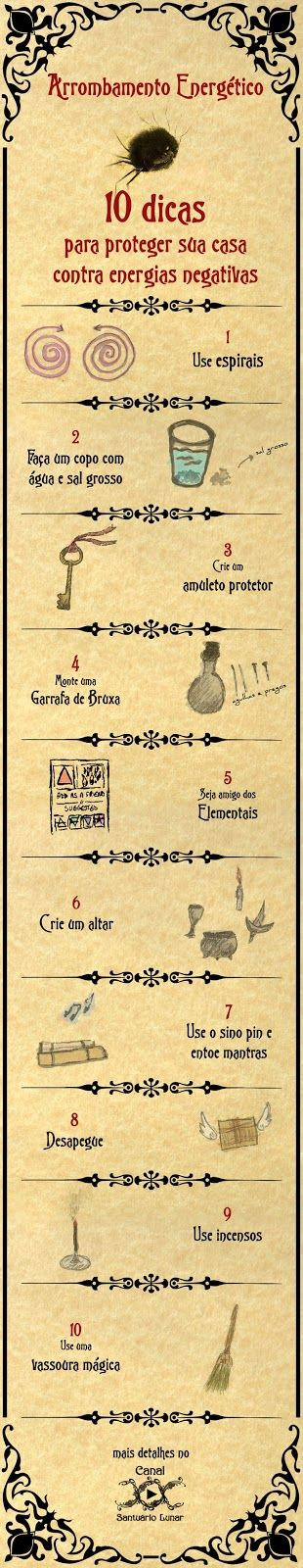 Magia, Bruxaria, Paganismo, Feitços - 10 dicas para proteger sua casa