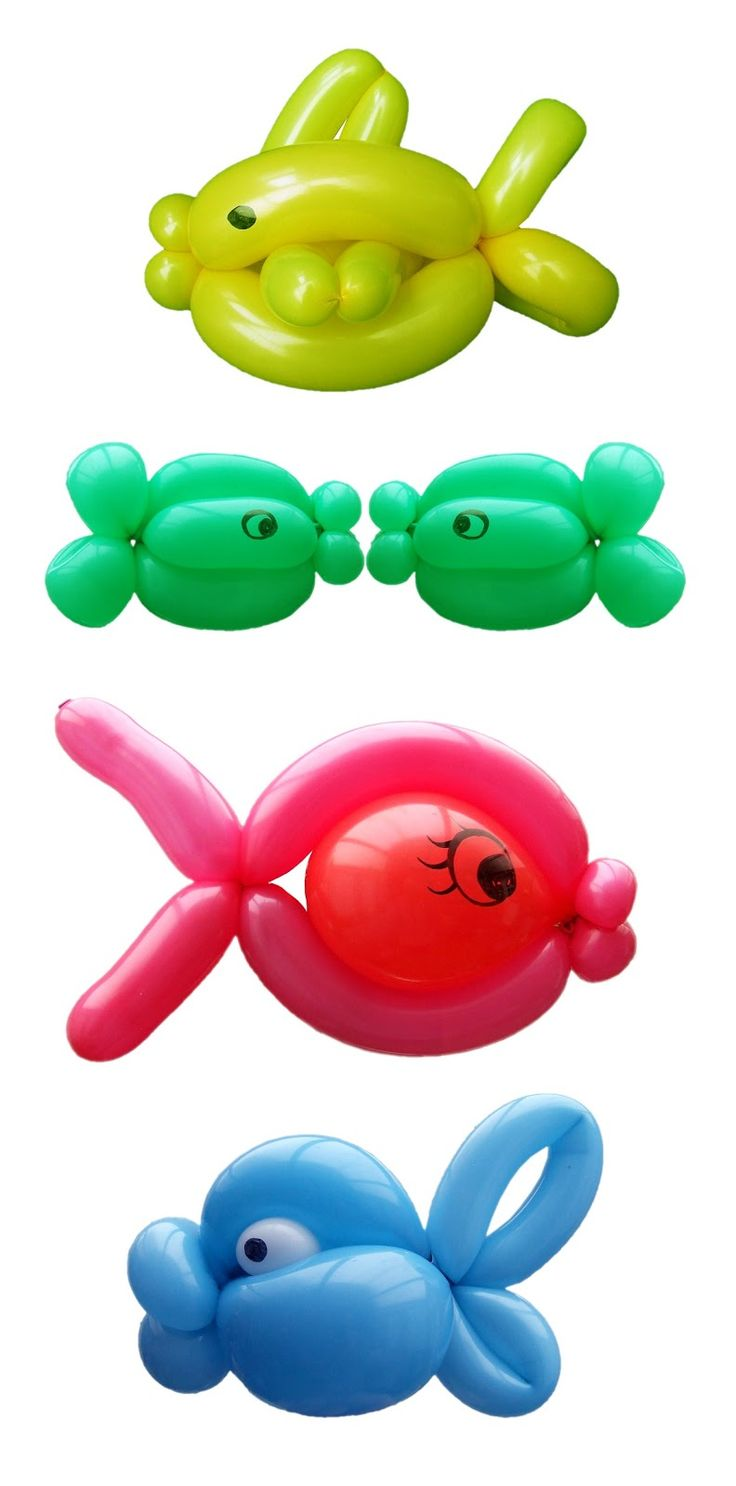My Daily Balloon: 7th March - One Fish Two Fish Red Fish Blue Fish
