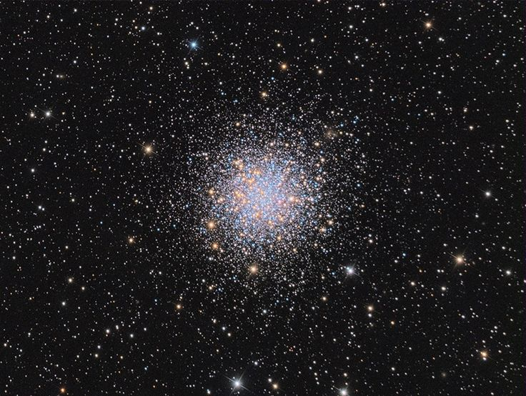 Globular cluster M12, captured by Madhup Rathi from Glen Allen, Virginia.