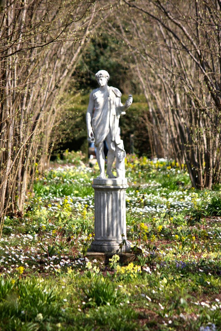 The Nuttery, Sissinghurst, March 2014. Find This Pin And More On English  Garden Statues ...