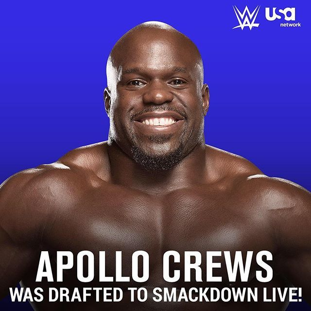 @apollocrewswwe is heading to #SmackdownLive! #WWEDraft