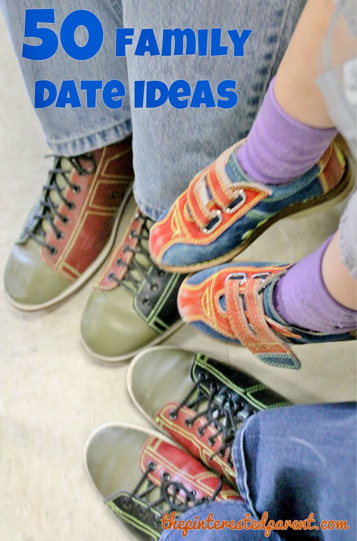 50 Family Date Ideas