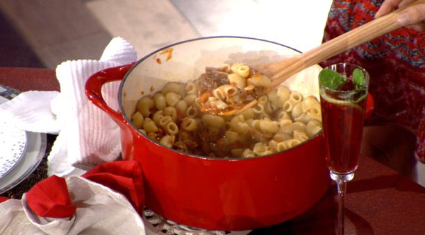 Gobetti with Vegetable Bolognese from Giada de Laurentiis