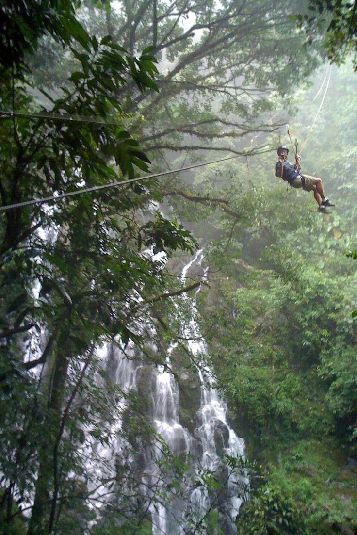Zipline at El Chorro Macho  El Valle de Anton, Panama