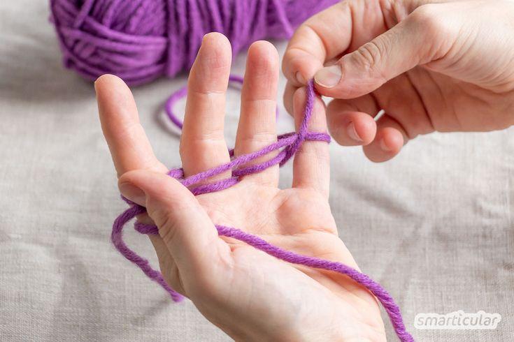 Fingerstricken - Anleitung und Ideen, nicht nur für Kinder