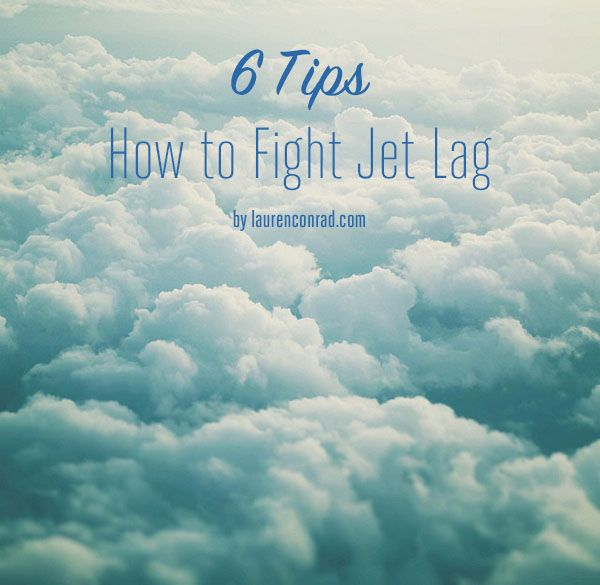 Tripping: How to Fight Jet Lag. This will be useful for Australia's 17 hour time difference!
