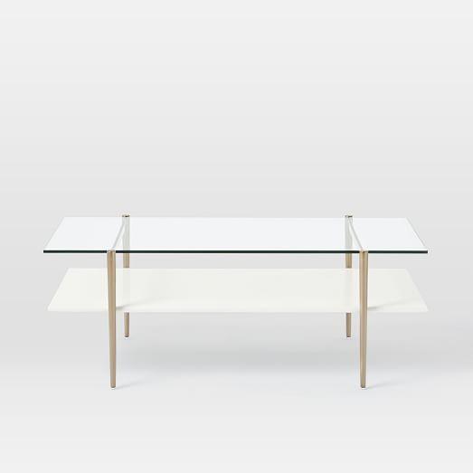 Mid Century Art Display Coffee Table Cloud Home Decor Mid
