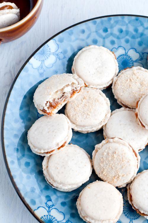 Cafe Johnsonia: Cashew Dulce de Leche French Macaron ...