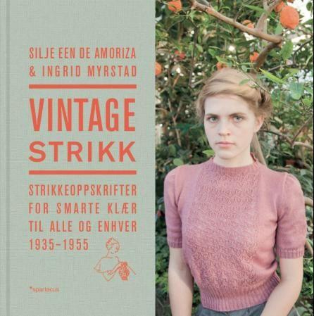 Vintage Strikk, bok.