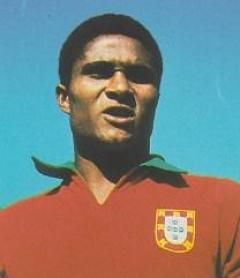 Eusébio da Silva Ferreira, (n. Maputo, Mozambique, 25 de enero de 1942) es un futbolista portugués, conocido como Eusébio y apodado La Pantera de Mozambique o La Perla Negra, es un icono del fútbol portugués