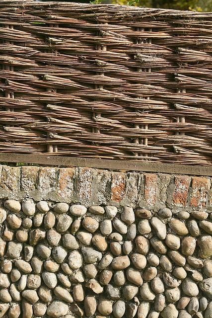 """Weave, brick, pebble, Walberswick""  Photo taken by Andrew Middleton on Flickr."