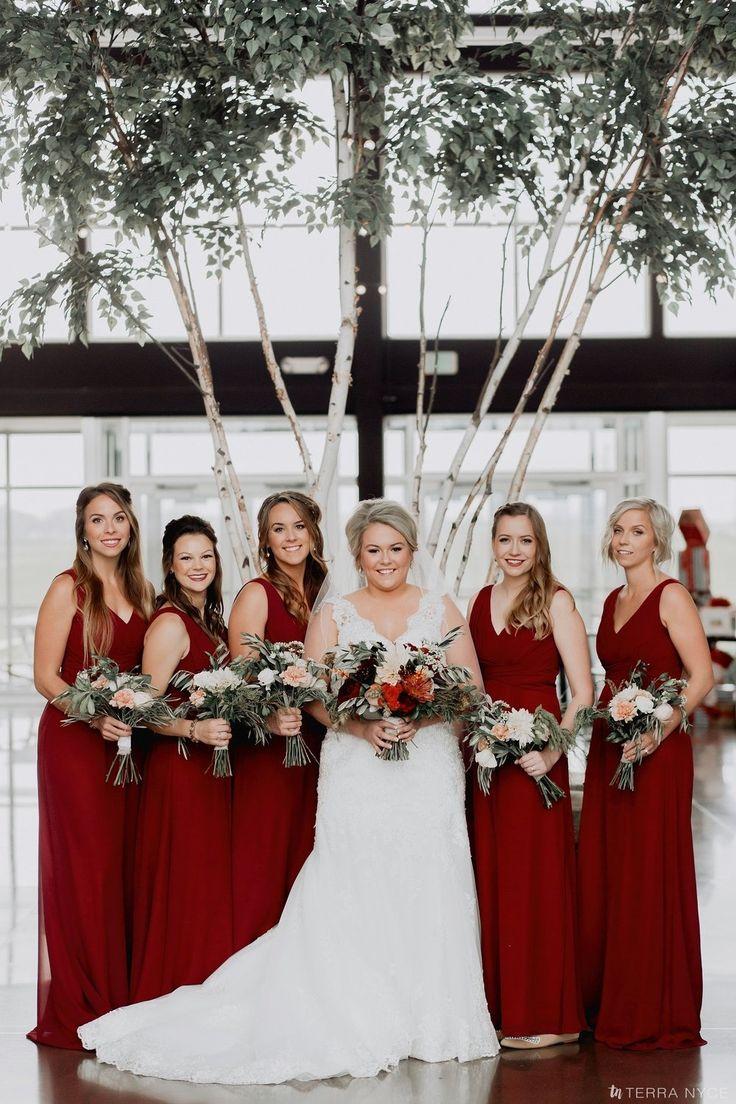 44 best beautiful burgundy bridesmaid dresses images on pinterest katie levi burgundy bridesmaid dressesbridesmaidslace ombrellifo Gallery