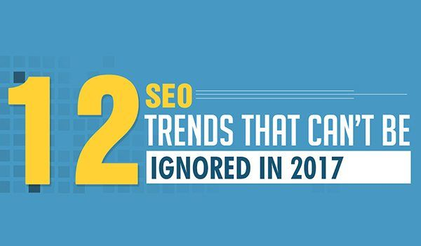 12 SEO Trends You Need to Follow to Achieve Higher Website Rankings [Infographic]