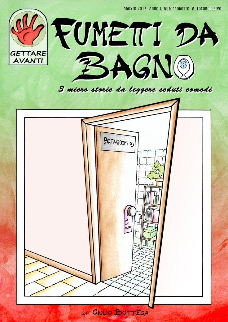 Giulio bottega, Fumetti da Bagno copertina
