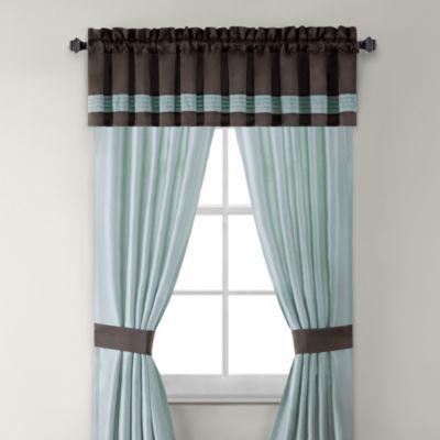 Willowbrook 84-Inch Window Curtain Panel Pair - BedBathandBeyond.com