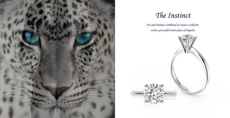 The Instinct Engagement Ring  jackfriedman.co.za