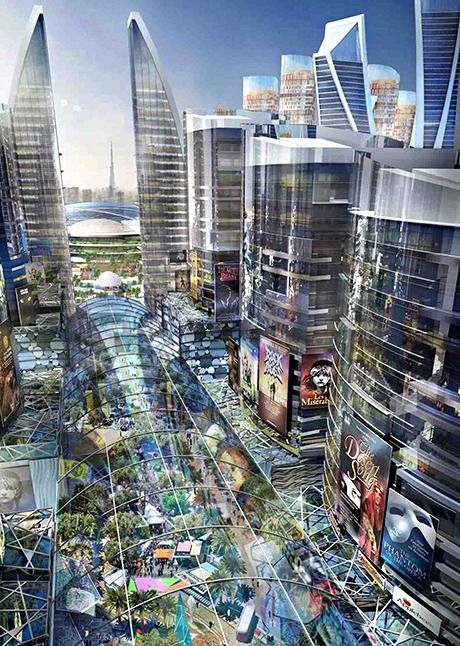 Mall of the World / Dubai's very own Broadway