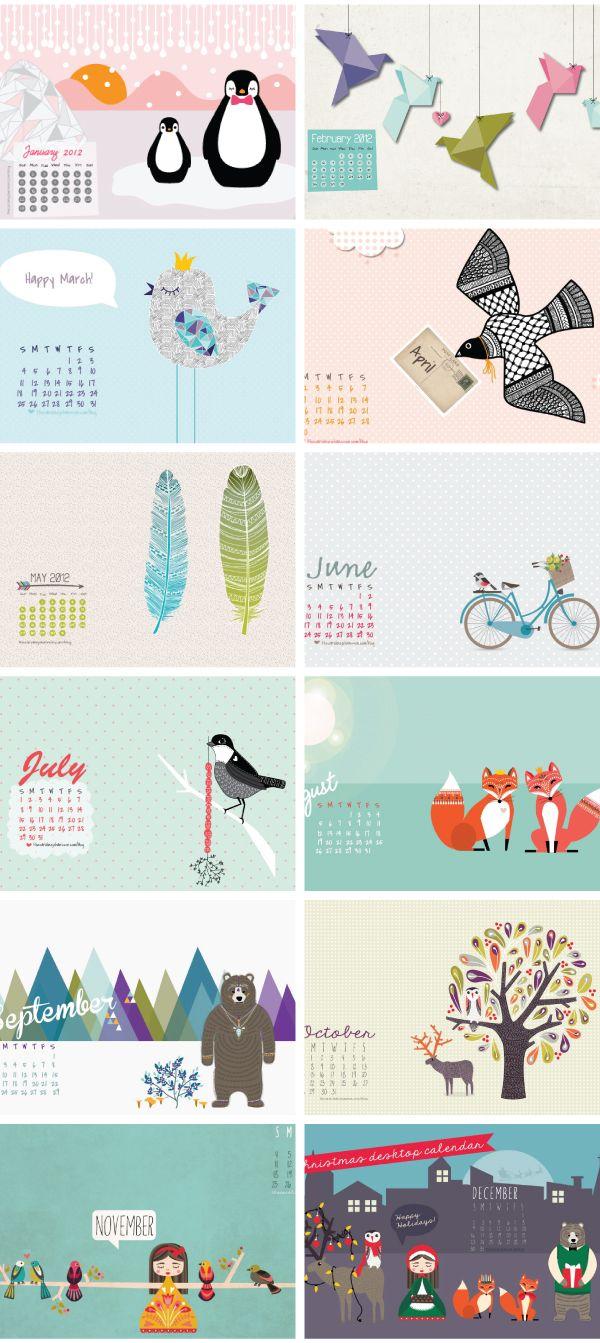 free wallpaper http://www.lunacatstudio.com webdesign wordpress website blog design fashion mode beauty beauté lifestyle blogger Free desktop calendars #wallpaper #calendar