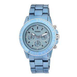 #Fossil Womens Quartz Chronograph Aluminum  women watch #2dayslook #alex2578923  www.2dayslook.com