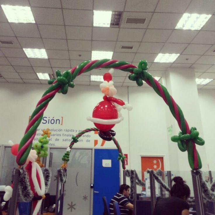 Arco temático navidad