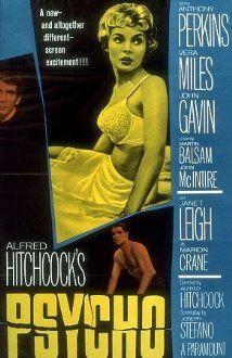 Psycho (1960) Poster