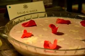 Gulab Ki Kheer- Rose flavoured Sweet Dish found only in Madhya Pradesh!!  Check out more on: www.mptravelogue.com