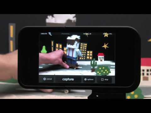 Awesome Time-lapse video with an iPhone. Tools : iMotion HD Time-lapse and Stop-…