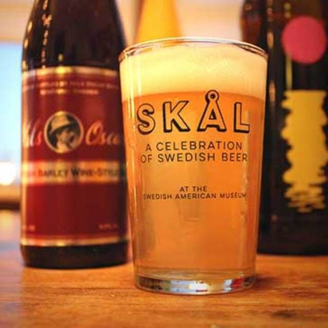 Next Thursday, The Swedish American Museum will host Skål: A Celebration of Swedish Beer.
