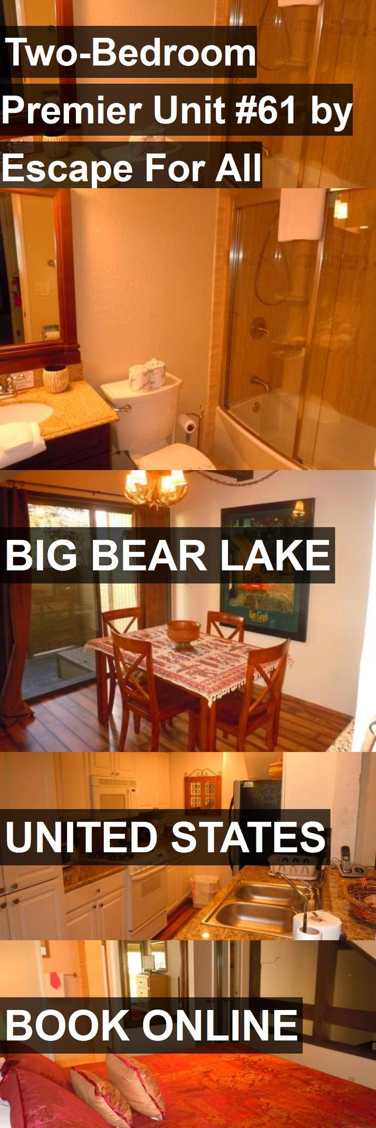 Hotel Two-Bedroom Premier Unit #61 by Escape For All Seasons in Big Bear Lake, United States. For more information, photos, reviews and best prices please follow the link. #UnitedStates #BigBearLake #travel #vacation #hotel