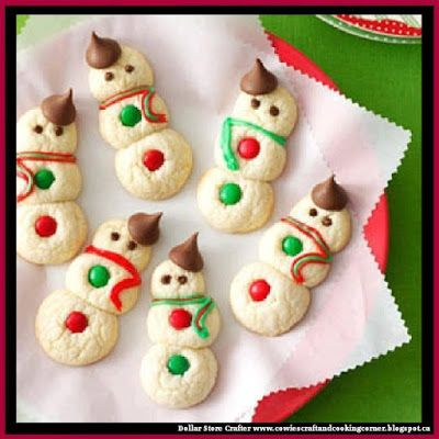 Dollar Store Crafter: Snowman Cookies