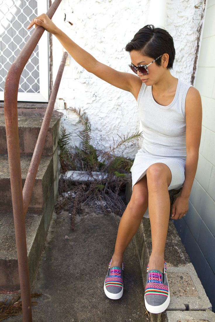 Inkkas Australia fair trade sneakers x Eco Warrior Princess