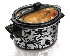 Stay or Go® 4 Quart Slow Cooker | Slow Cooker | Hamilton Beach