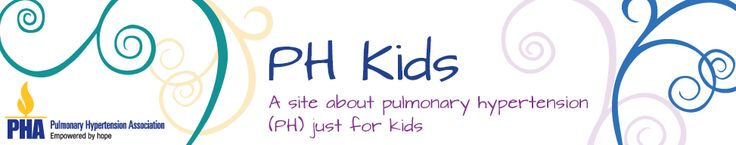 PH Kids - A site about pulmonary hypertension just for kids #PulmonaryHypertension #PHAware #PHKids
