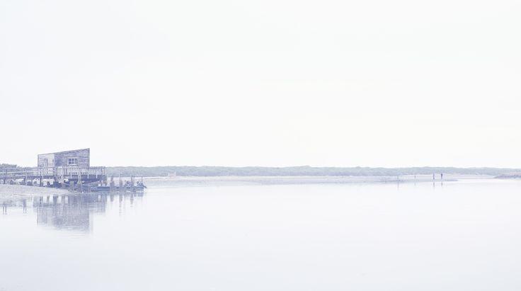 Okarito, River, estery, Calm, West coast, Fishing shack. Old Hut, NZ Art, Dan Max, Our Land.