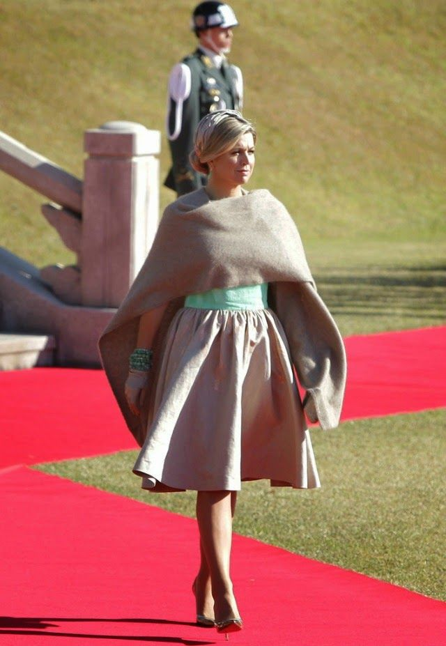 MyRoyals: Dutch State Visit to South Korea, Day 1, November 3, 2014-Queen Maxima