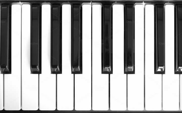 Music keyboard by UK Photos - Europa Fotos on Creative Market