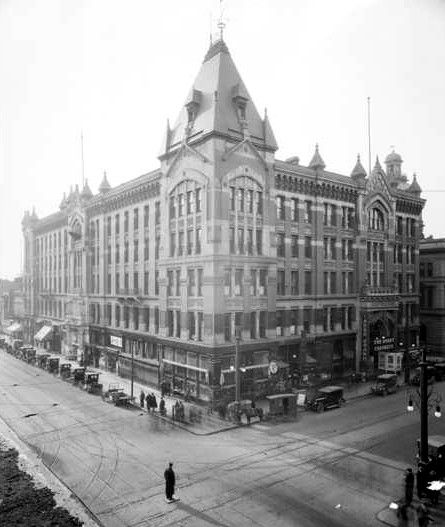 The Tabor Grand Opera House In The 1920's