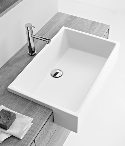 Wash basins | Wash basins | Washbasins | Minimal | Milldue. Semi recessed.