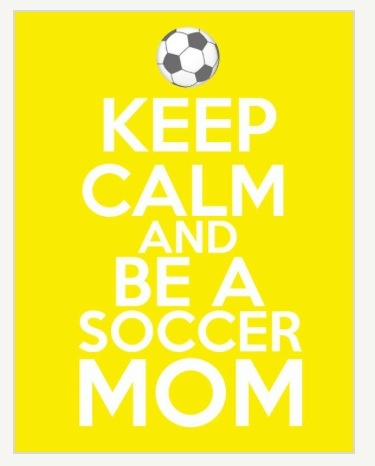 Um, it is impossible to kerp calm as a Soccer mom! Lol yes I'm the wootin and hollerin mom! Damn proud! My girl owns that field!