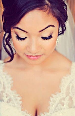 simple yet beautiful wedding day makeup My Wedding ...